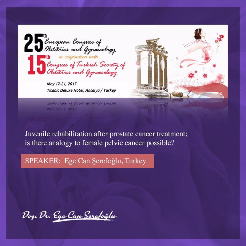 25th European Congress of Obstetrics and Gynaecology