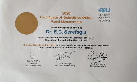 Avrupa Üroloji Derneği (EAU) 2020 Kılavuzları Yayınlandı
