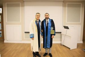 Biruni Üniversitesi Üroloji Anabilim Dalından Onurlandıran Ünvan