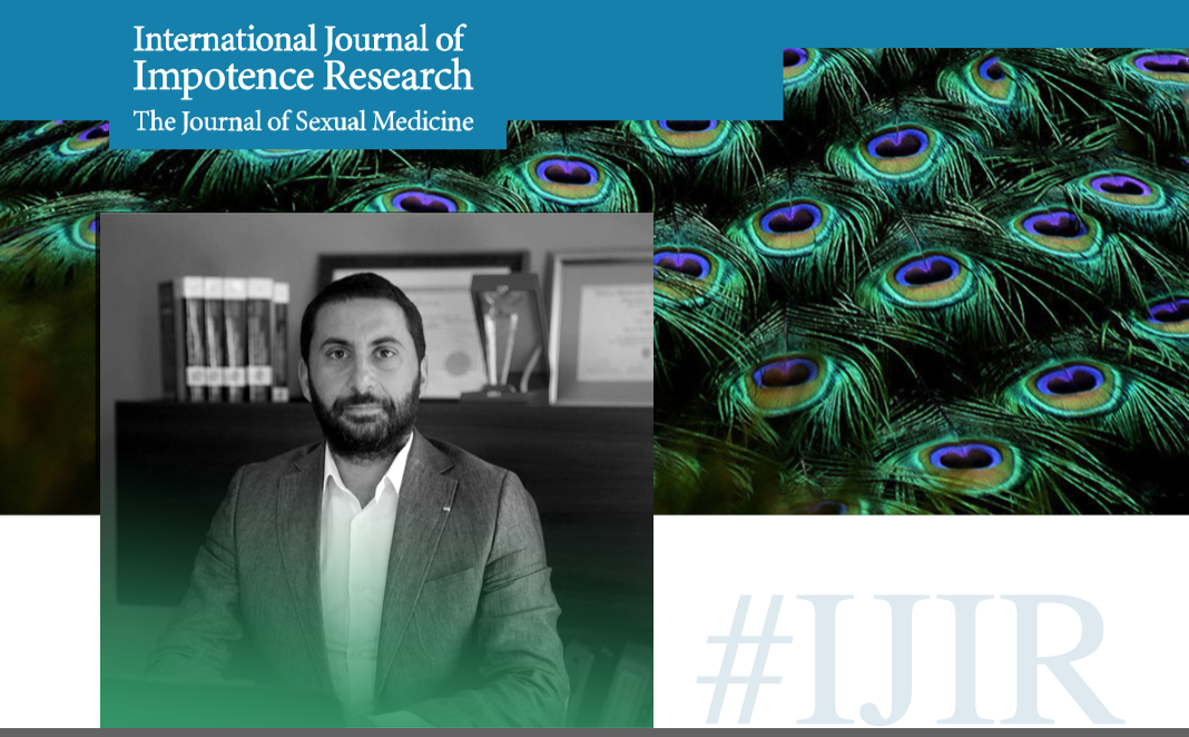 "International Journal of Impotence Research: The Journal of Sexual Medicine"" (IJIR) dergisinin baş editörlüğüne 3 yıl süreyle Dr. Ege Can Şerefoğlu atandı."